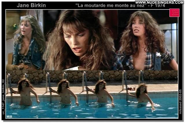 Jane Birkin La Moutarde Me Monte Au Nez Nice Singer Celebrity