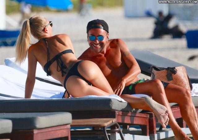 Laura Cremaschi No Source Bikini Candids Beautiful Celebrity Posing