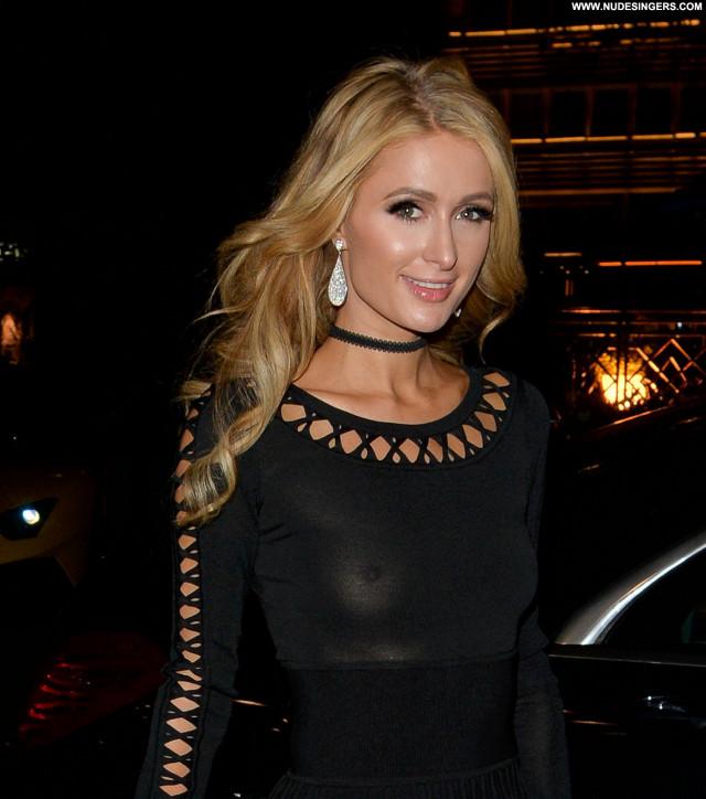 Paris Hilton No Source Candids Beautiful Posing Hot Celebrity See