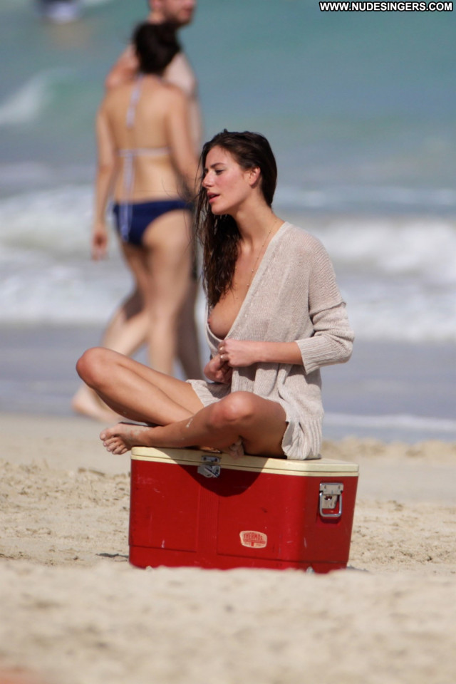 Alejandra Guilmant The Beach Model Beautiful Babe Topless Celebrity
