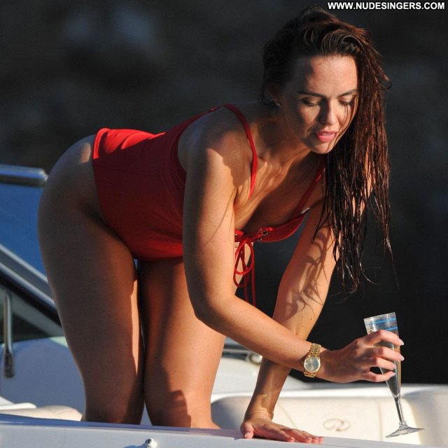 Jennifer Metcalfe No Source Swimsuit Beautiful Posing Hot Boat Babe