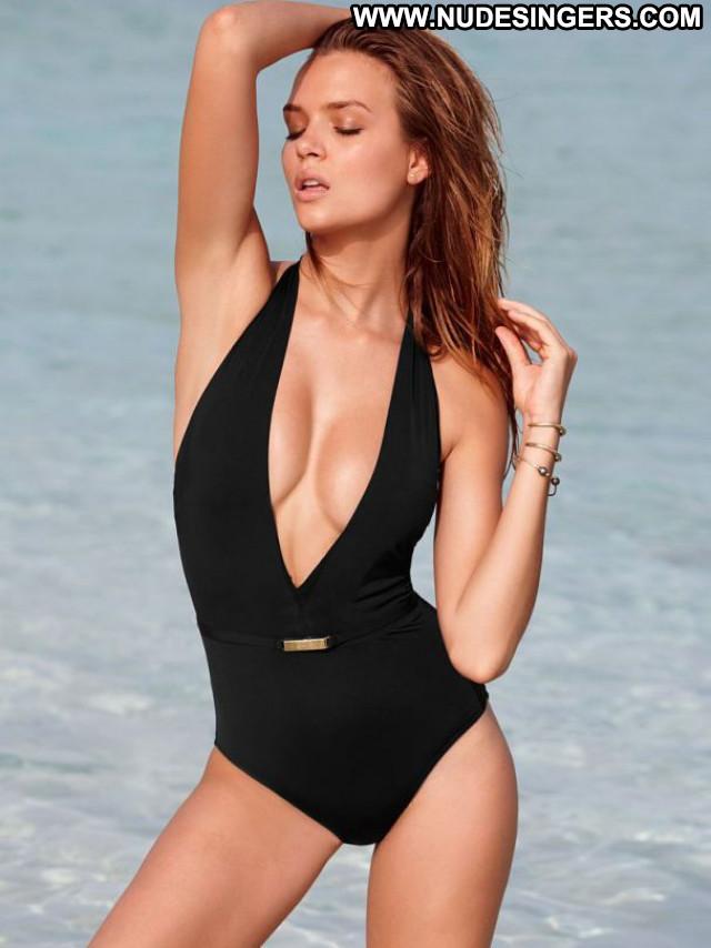 Josephine Skriver No Source Beautiful Lingerie Babe Posing Hot Bikini