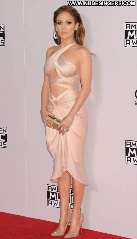 Jennifer Lopez American Music Awards  Awards Posing Hot American