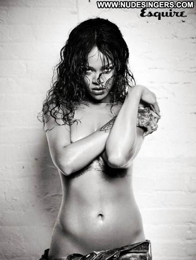 Rihanna Esquire Uk Uk Magazine Photoshoot Babe Posing Hot Celebrity