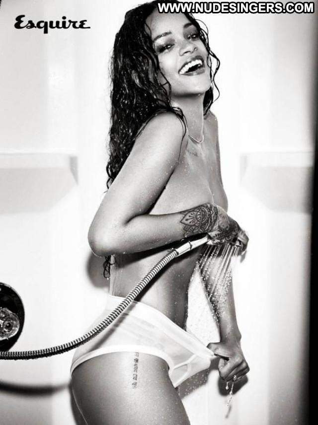 Rihanna Esquire Uk Beautiful Celebrity Magazine Photoshoot Uk Posing