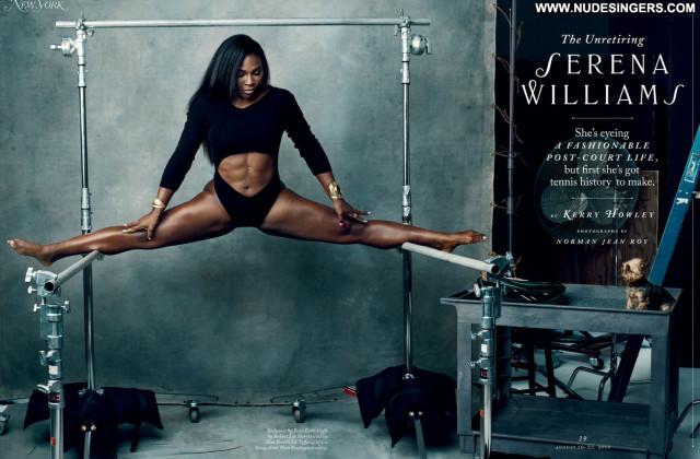 Serena Williams No Source American Ebony Posing Hot Celebrity Sexy