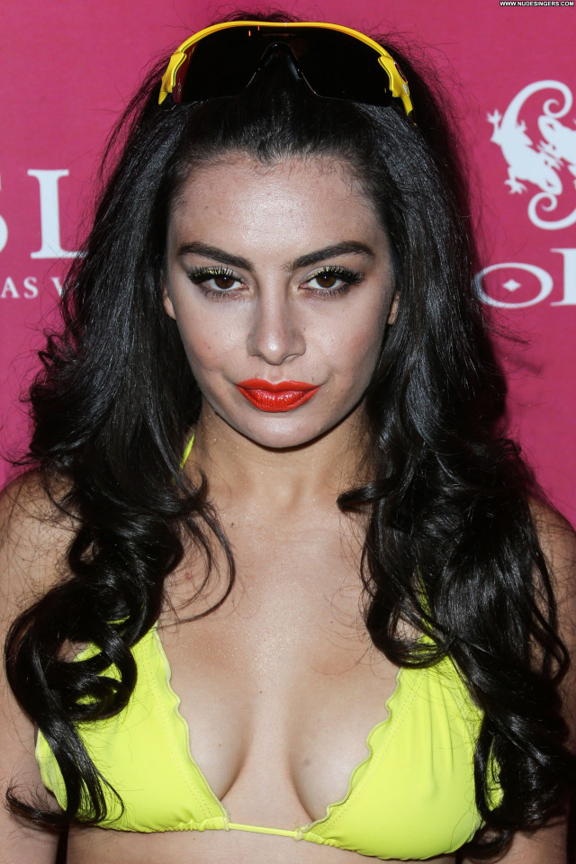 Charli Xcx Pool Party Sexy Babe Singer Party Posing Hot Birthday Pool