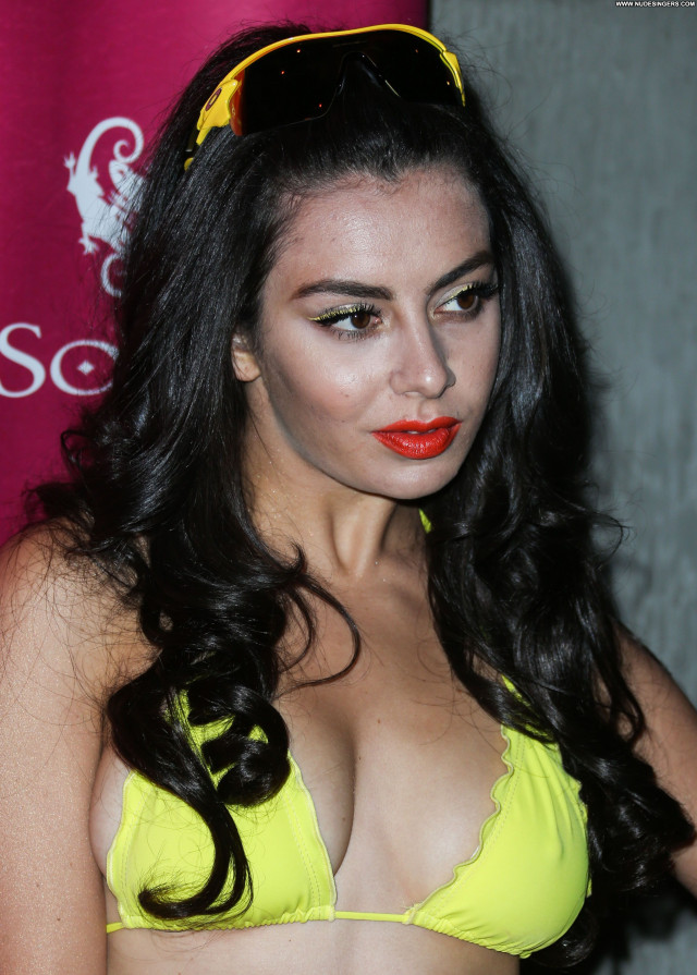 Charli Xcx Pool Party Babe Party Posing Hot Sexy Beautiful Celebrity