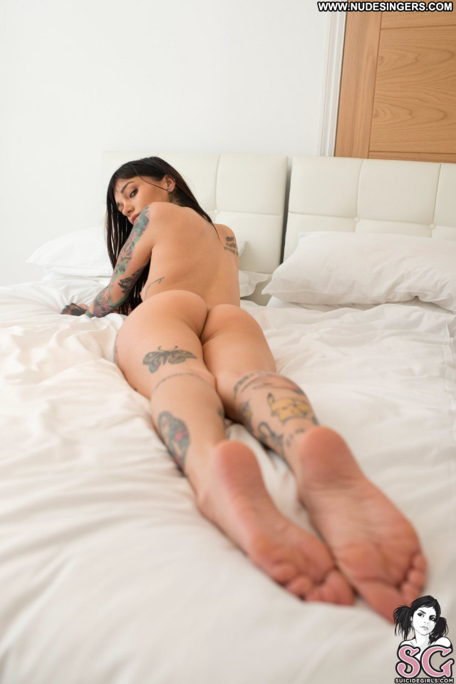 Foxilla Suicide Girls Latina Tits Babe Tattoos Tattoo Celebrity Bed