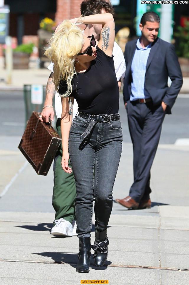 Lady Gaga New York Beautiful Posing Hot Celebrity New York See