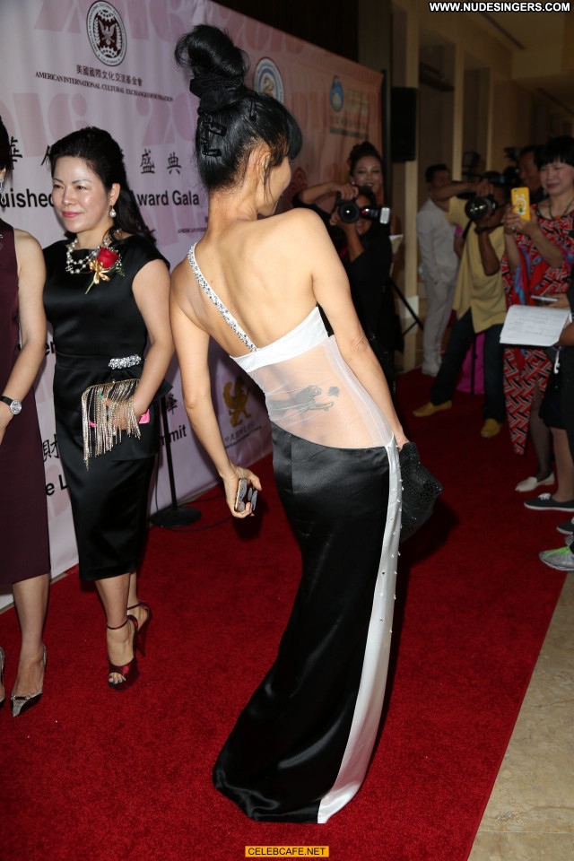 Bai Ling Beverly Hills Beautiful Babe Sexy American Celebrity Posing
