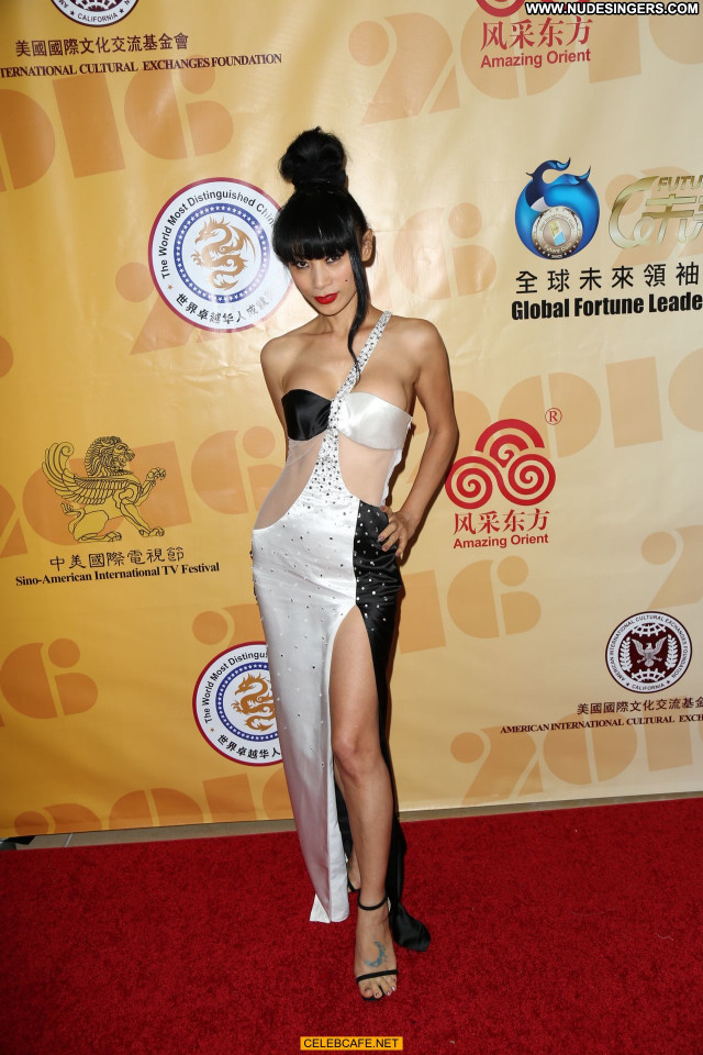 Bai Ling Beverly Hills American Posing Hot Beautiful International