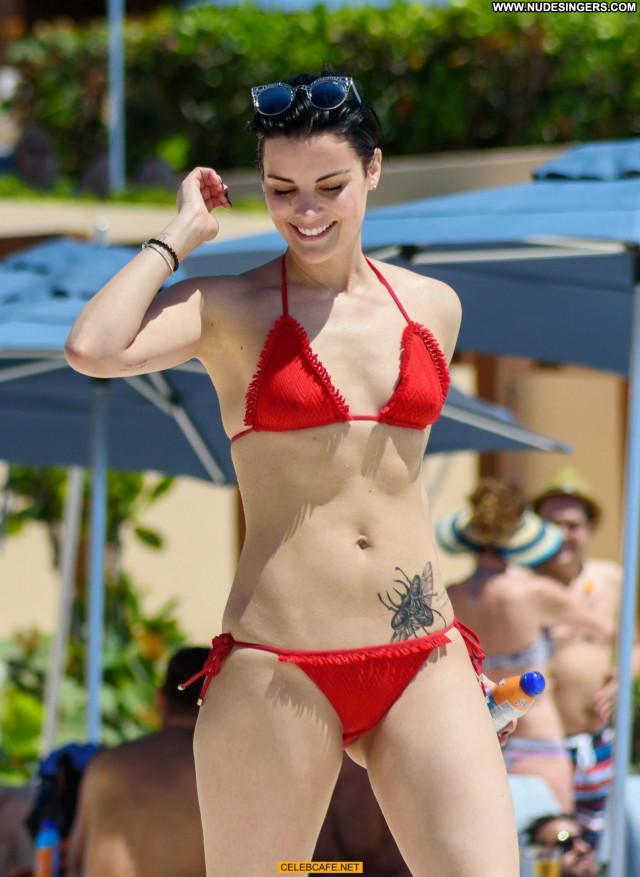 Jaimie Alexander The Pool Posing Hot Pool Bikini Babe Beautiful