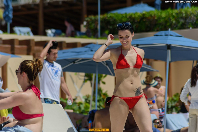 Jaimie Alexander The Pool Posing Hot Beautiful Babe Bikini Celebrity