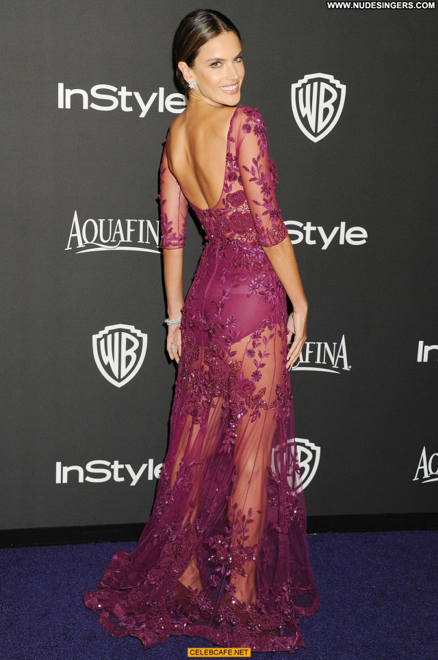 Alessandra Ambrosio No Source Beautiful Babe See Through Posing Hot