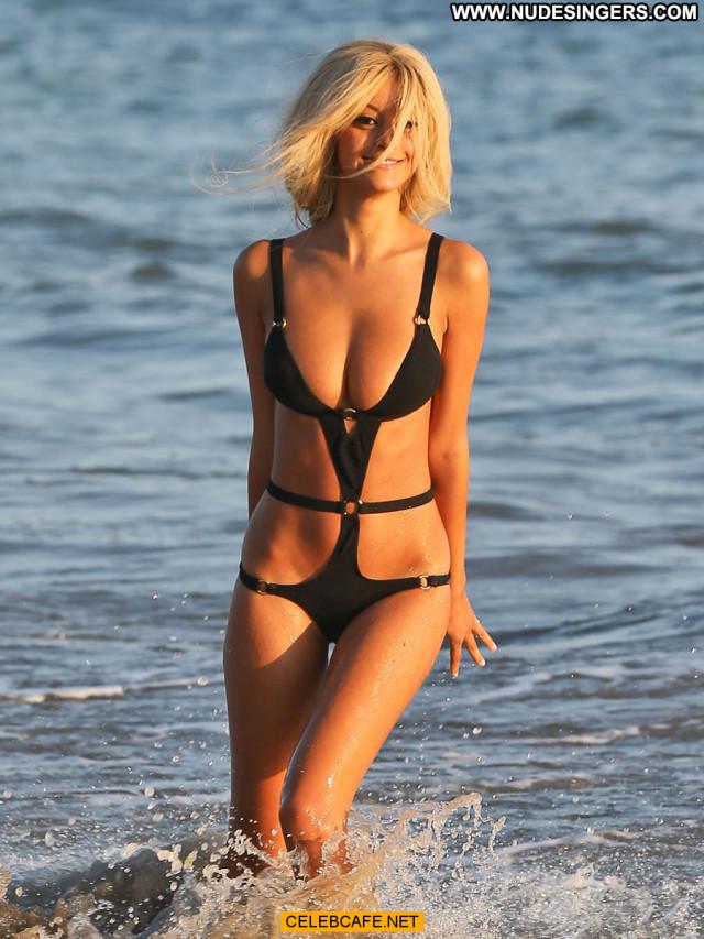 Zahia Dehar The Beach In Malibu Posing Hot Bikini Beach Malibu Mali