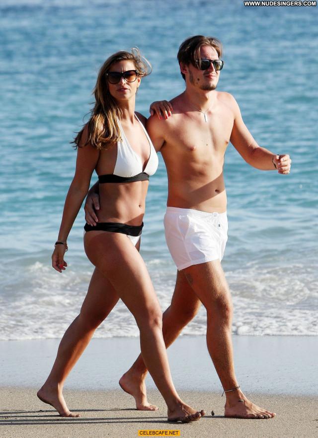 Ferne Mccann The Beach  Beach Sexy Sex Celebrity Beautiful Babe