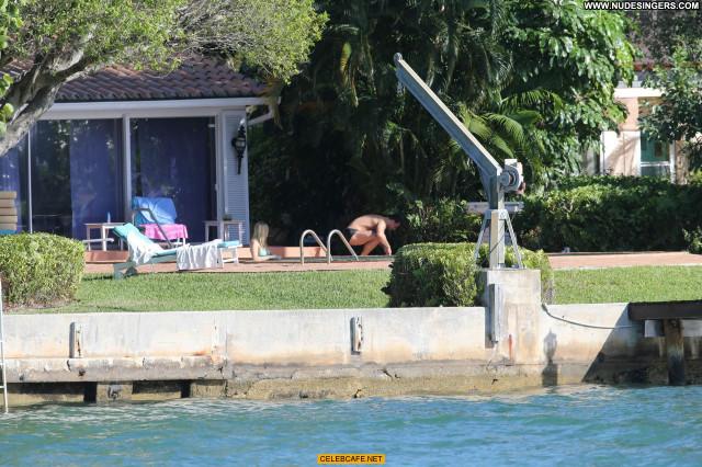 Joanna Krupa Miami Beach  Posing Hot Pool Beautiful Babe Beach
