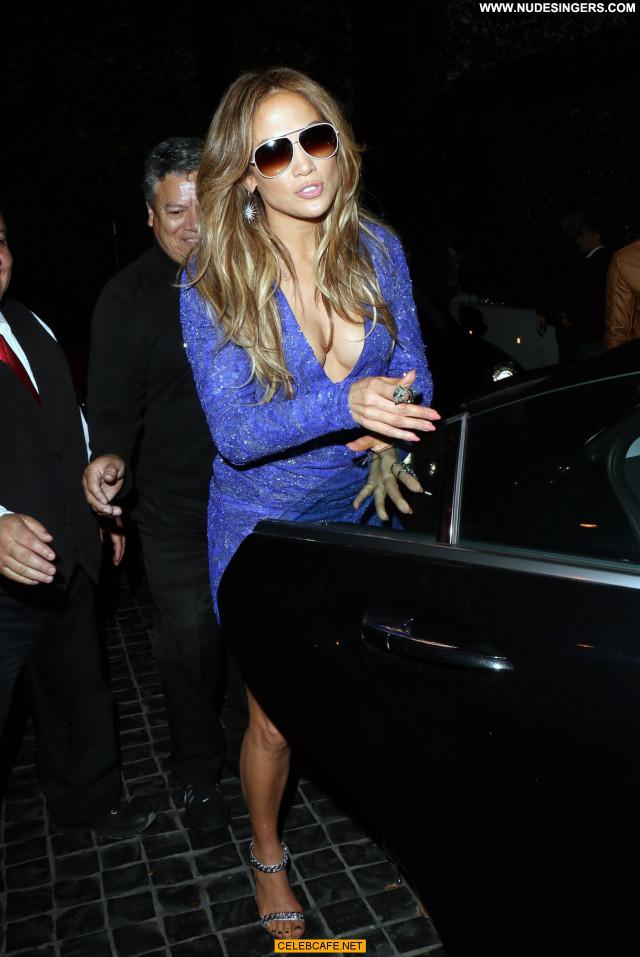 Jennifer Lopez West Hollywood Babe Posing Hot Beautiful West