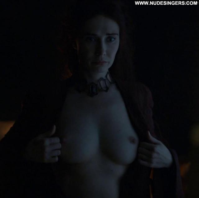 Carice Van Houten Game Of Thrones Babe Breasts Nude Car Celebrity Big