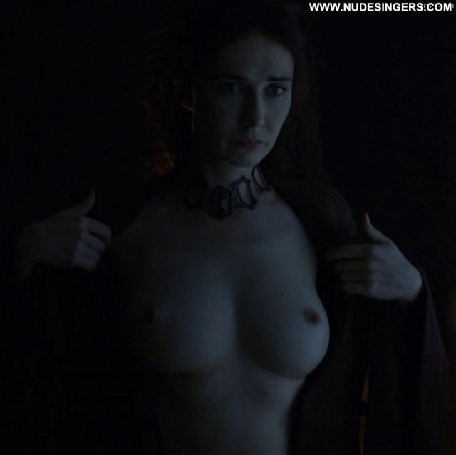 Carice Van Houten Game Of Thrones Floor Nude Posing Hot Big Tits