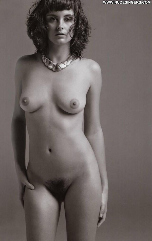 Trish Goff Black And White  Magazine Fashion Babe Nude Beautiful