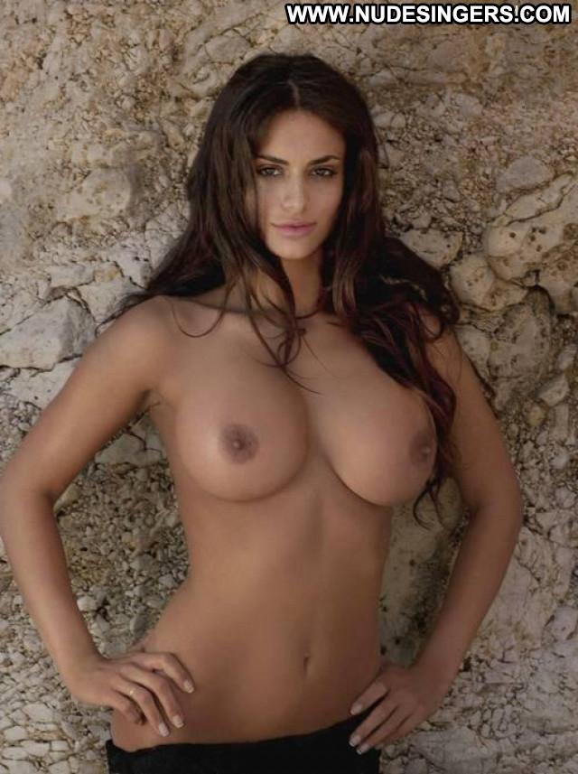 Cristina Del Basso Big Brother Old Boobs Bus Celebrity Shy Calendar