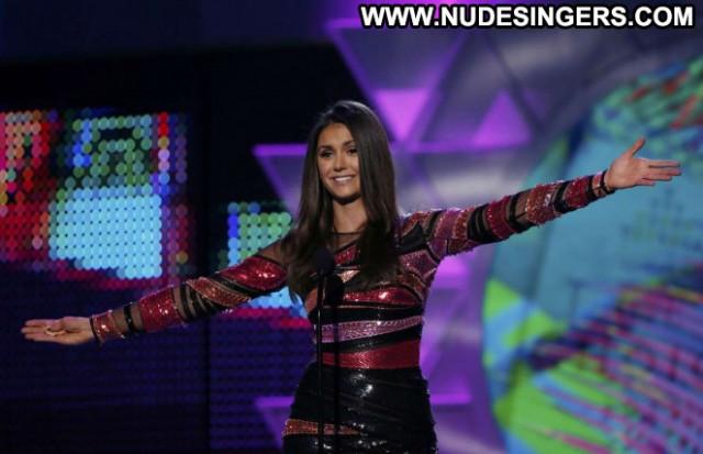 Nina Dobrev No Source Awards Babe Beautiful Celebrity Paparazzi Teen