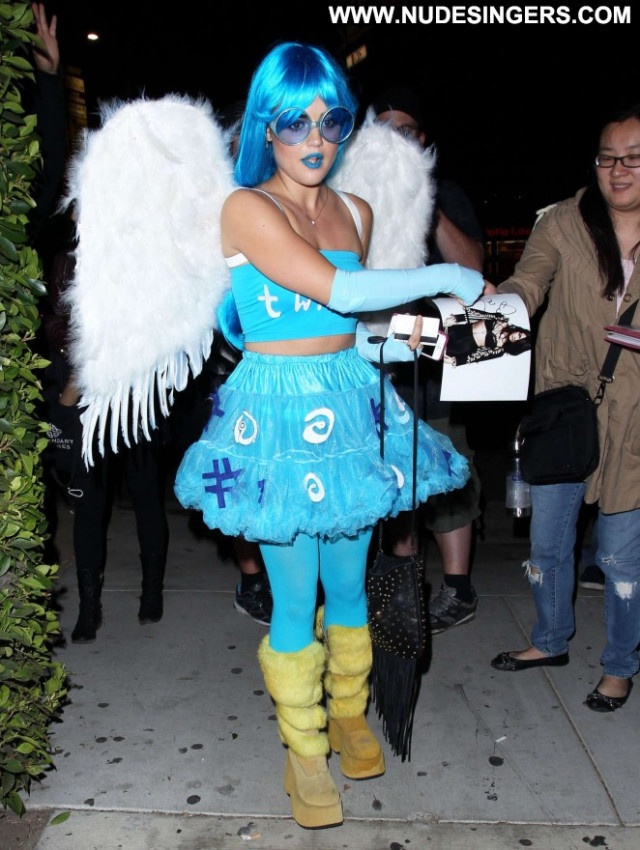 Lucy Hale Halloween Party Hollywood Beautiful Posing Hot Halloween