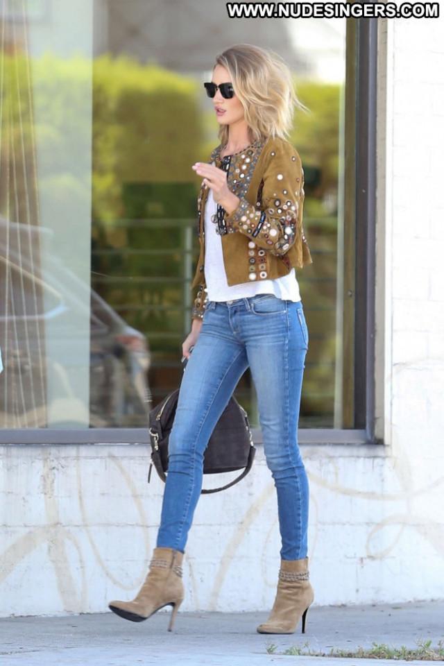 Rosie Huntington Whiteley Posing Hot Paparazzi Jeans Babe Beautiful