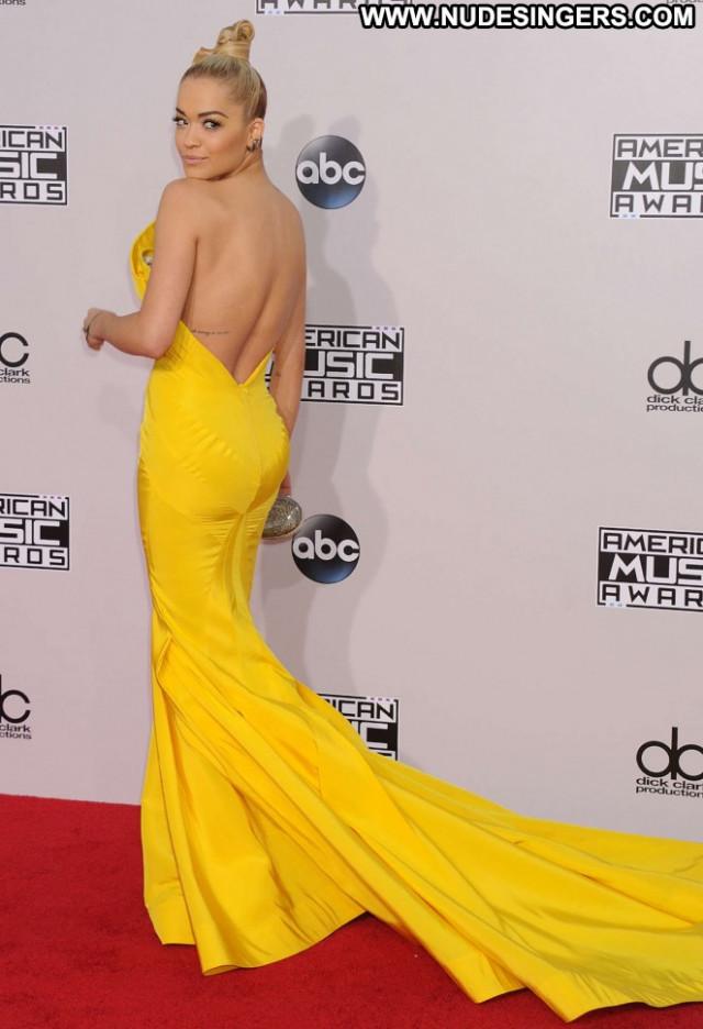 Rita Ora American Music Awards American Posing Hot Beautiful Babe