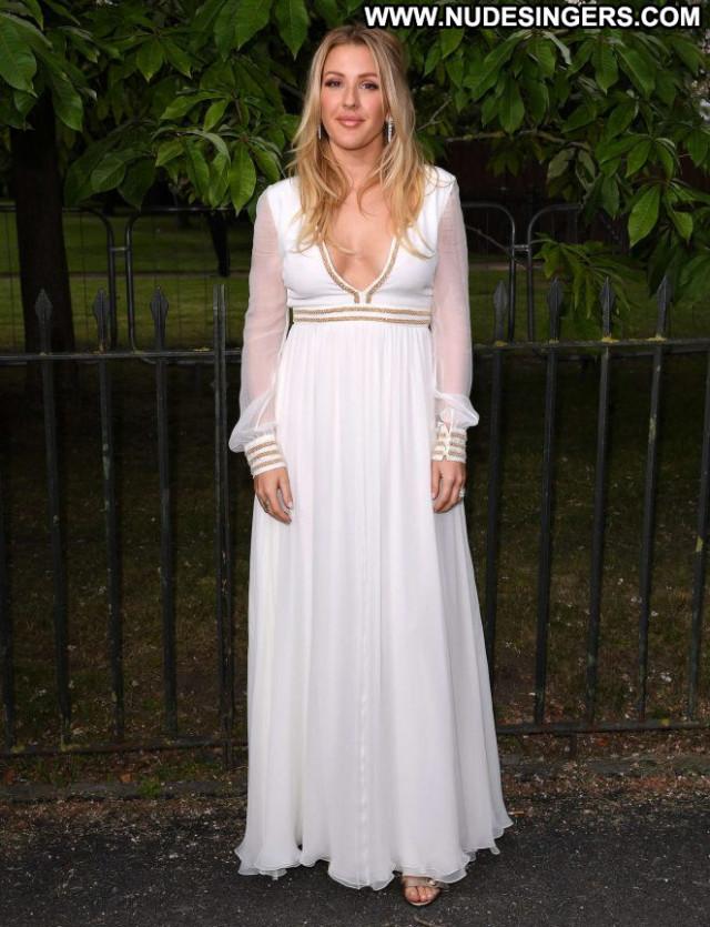 Ellie Goulding Posing Hot Summer London Babe Celebrity Beautiful
