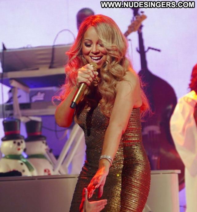 Mariah Carey New York Posing Hot Paparazzi New York Concert Babe Car