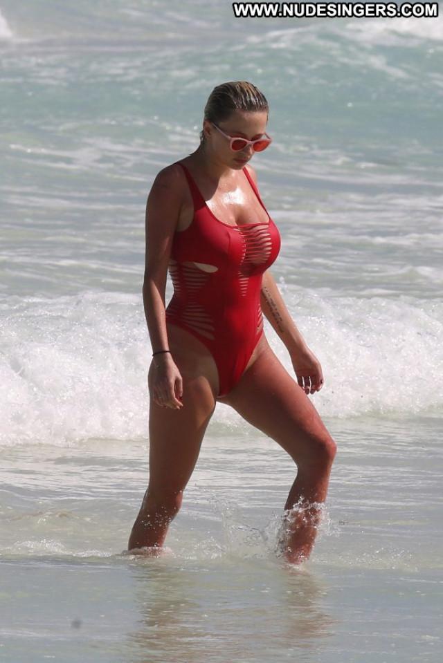April Love Cameron Davis Big Tits Hat Celebrity Boobs Sexy Swimsuit