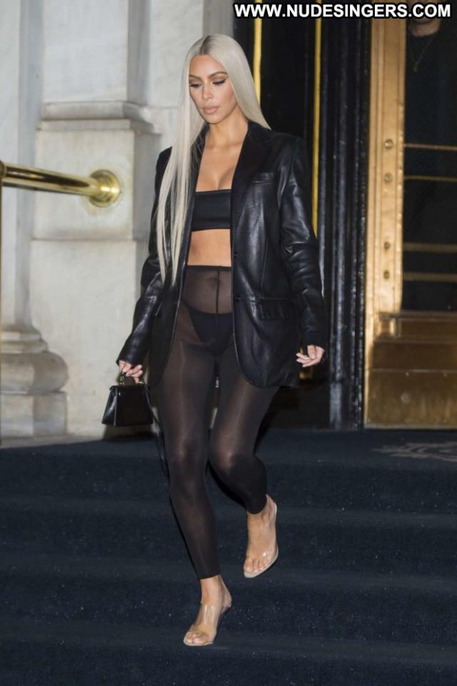 Kim Kardashian New York Babe Celebrity Paparazzi New York Beautiful