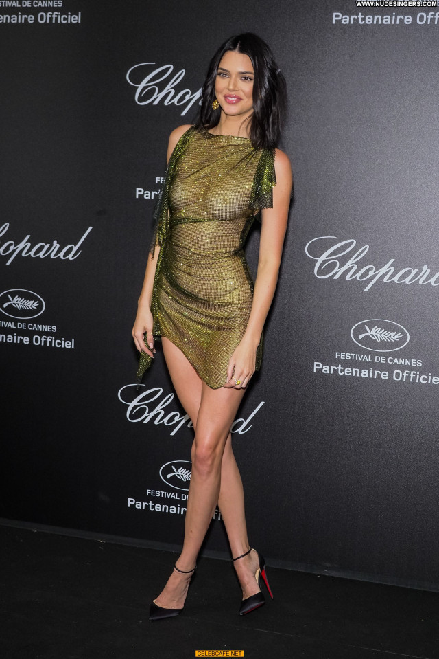 Kendall Jenner Cannes Film Festival Party Posing Hot Beautiful Nude