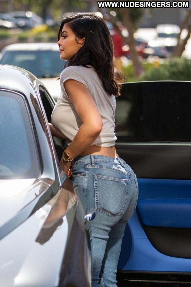 Kylie Jenner No Source Beautiful Woods Babe Paparazzi Jordan