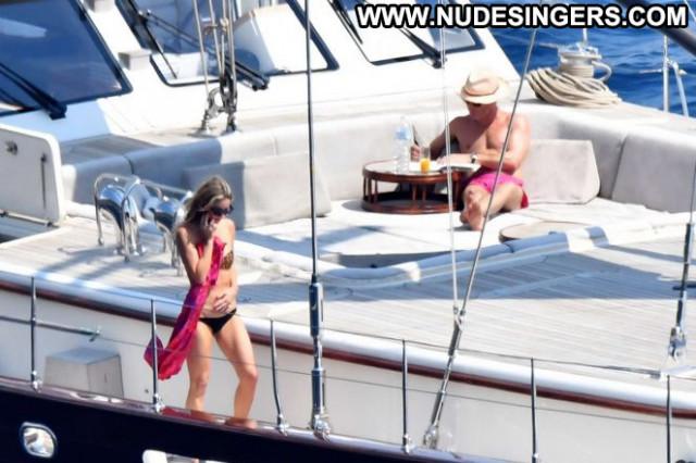 Bikini No Source Posing Hot Yacht Bikini Paparazzi Celebrity