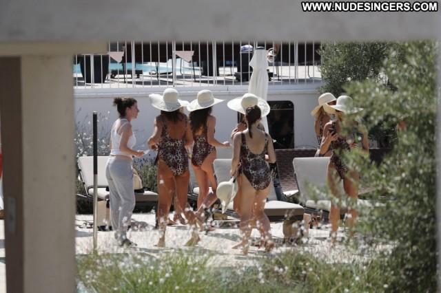 Billie Faiers No Source Ibiza Celebrity Swimsuit British Babe Posing