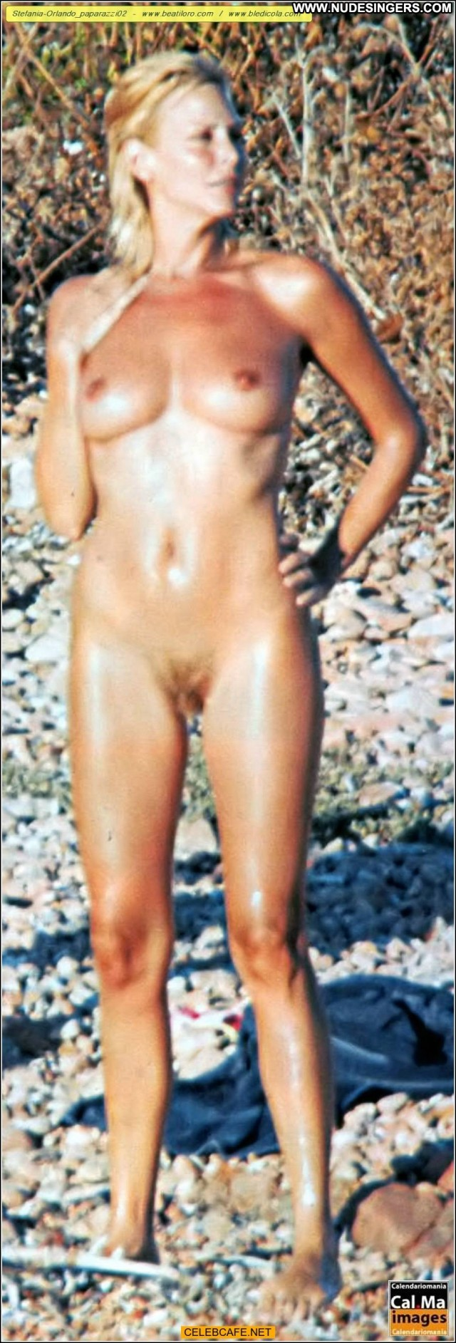 Stefania Orlando Full Frontal Nude Celebrity Full Frontal Beach