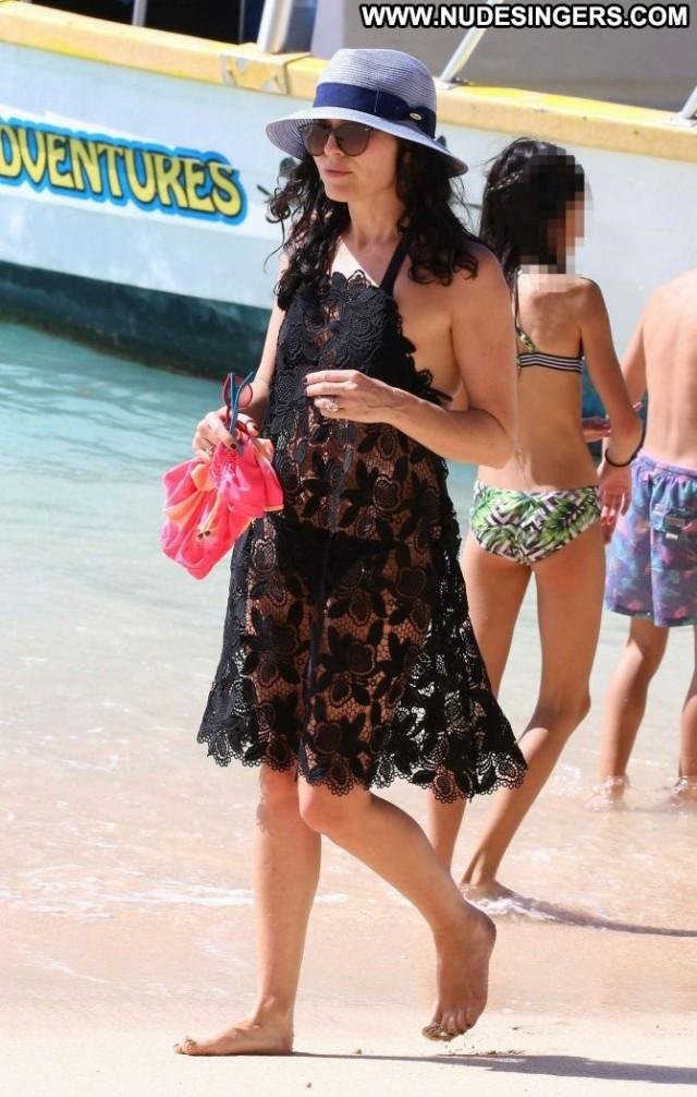 Andrea Corr No Source Bar Celebrity Barbados Beautiful Bikini