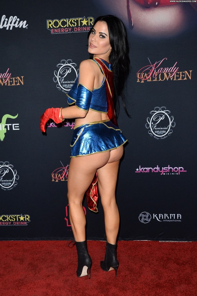 Carla Howe Halloween Party Big Tits Celebrity Nude Babe Red Carpet