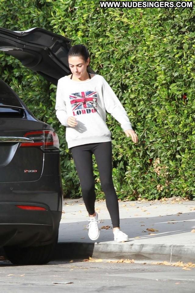 Mila Kunis Los Angeles Angel Posing Hot Los Angeles Celebrity Babe
