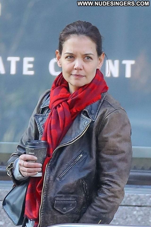 Katie Holme New York Celebrity Babe New York Posing Hot Beautiful