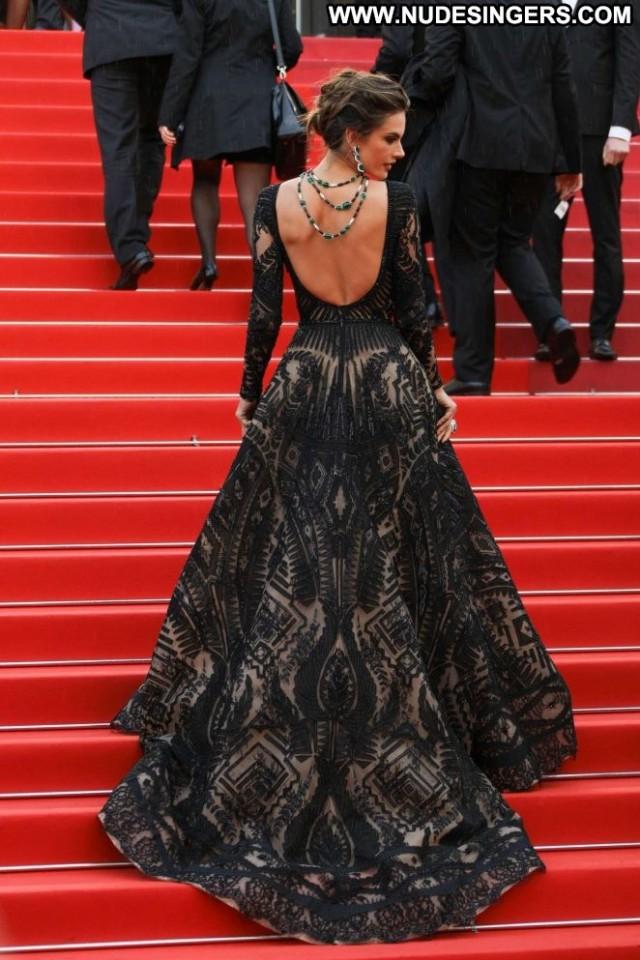 Alessandra Ambrosio Cannes Film Festival Beautiful Celebrity Babe