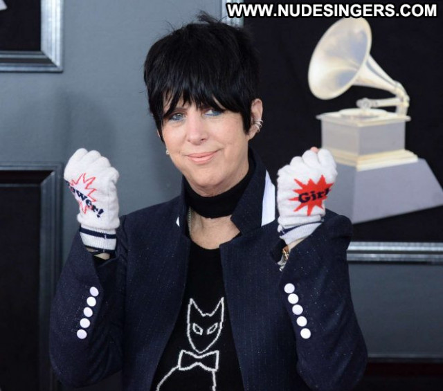 Diane Warren Grammy Awards Celebrity Awards New York Paparazzi Posing