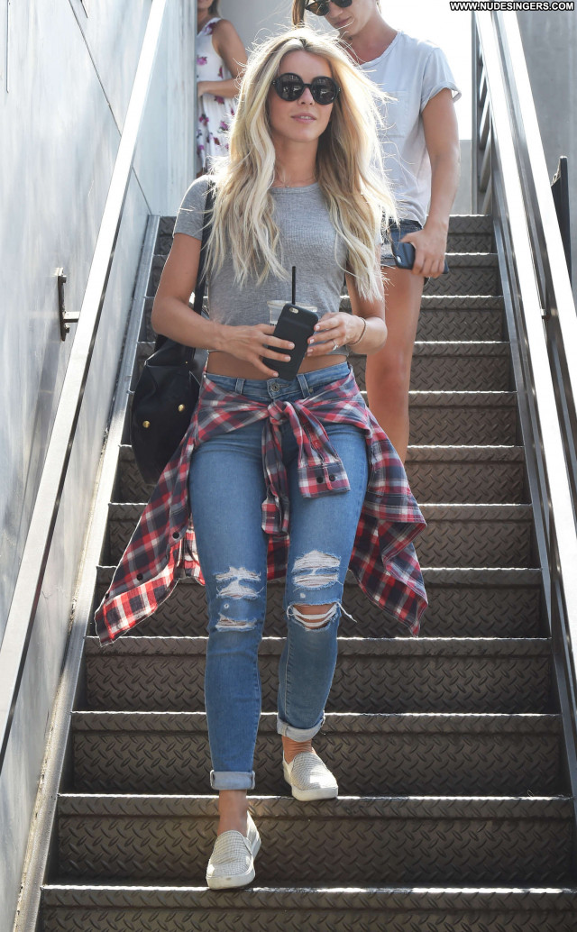 Julianne Hough West Hollywood Posing Hot Babe Celebrity West