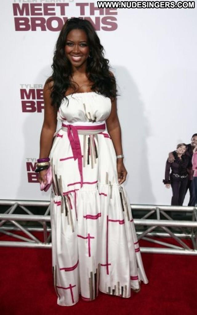 Kenya Moore The Independent Posing Hot Summer Beautiful Model Ebony