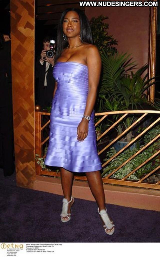 Kenya Moore The Independent School Posing Hot Celebrity American