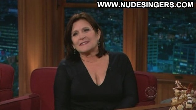 Carrie Fisher No Source Boobs Babe Posing Hot Big Tits Celebrity